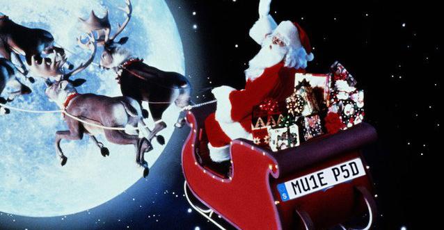 Moș Crăciun a oprit în Suedia să-și pună o plăcuță specială la sanie!