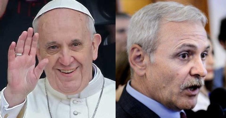 Multă papa săptămâna asta: vine Papa și PSD e pa, pa!