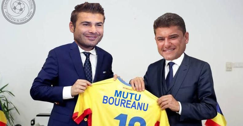 Mutu și Boureanu vor antrena naționala! Să batem și noi măcar echipele alea de chelneri și polițiști!
