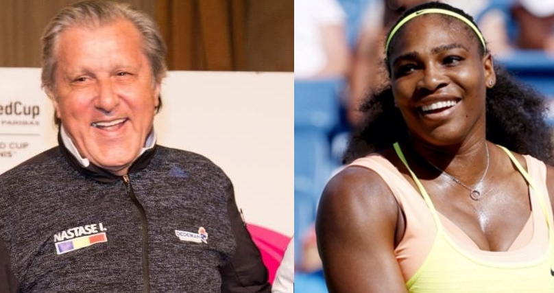 """Serena îi răspunde lui Ilie Năstase: """"Mânca-mi-ai p _ _ a!"""""""