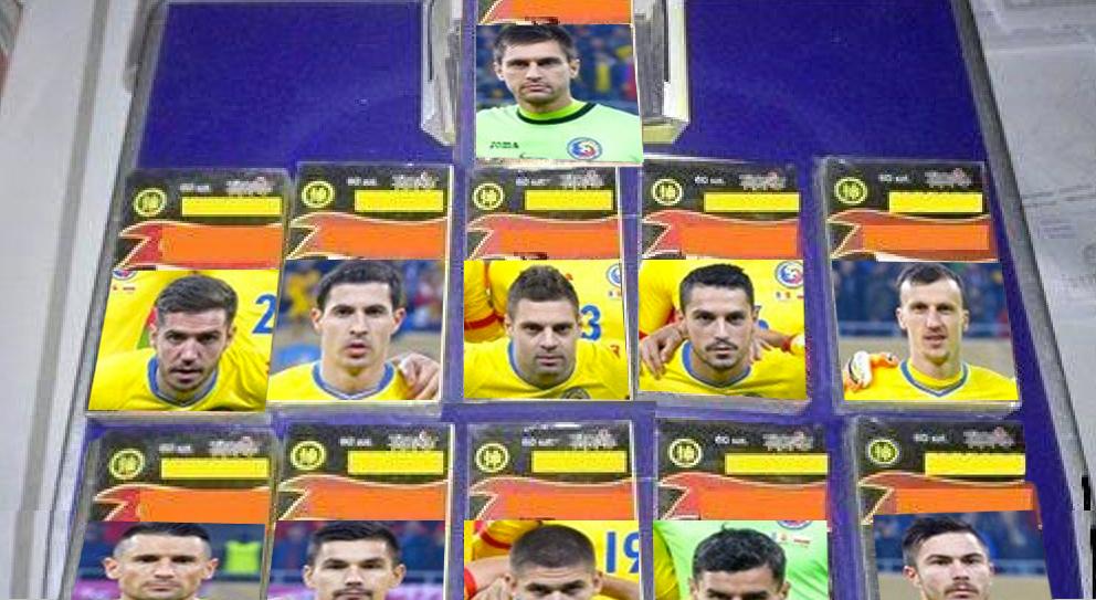 Naționala României a devenit imaginea oficială a unui producător de petarde!