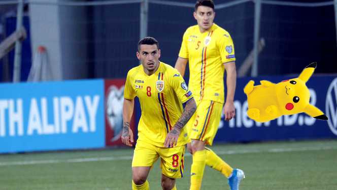 Meciul România-Norvegia, întrerupt după ce a fost aruncat un pokemon din tribune!