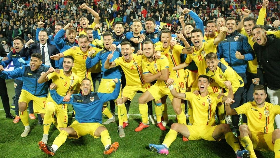 Mare noroc pe naționala mare că nu joacă cunaționala U21, fiindcă o lua și de la ăștia!