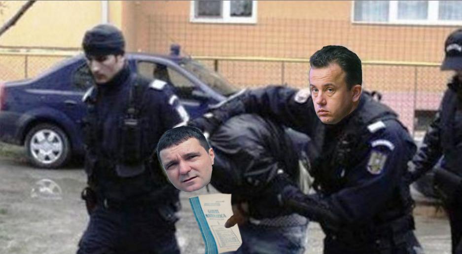 Nicușor Dan, săltat de poliție pentru că la o percheziție l-au prins cu Gazeta Matematică în geantă!