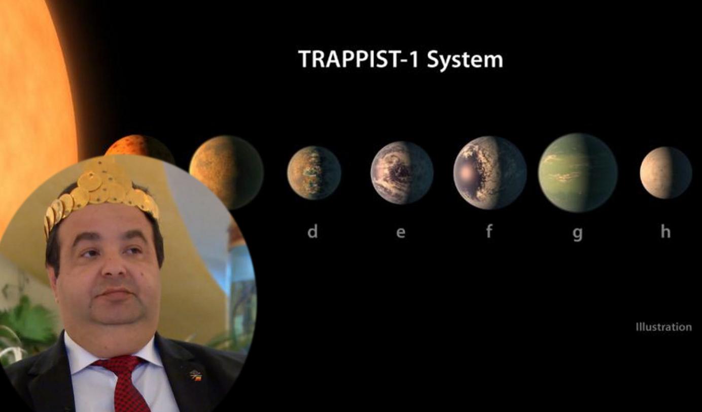"""Cioabă: """"Propunem NASA să numească noile planete Judecător, Ministru, Ambasador, Semafor, Mercedesa, Puțică și Bos"""""""