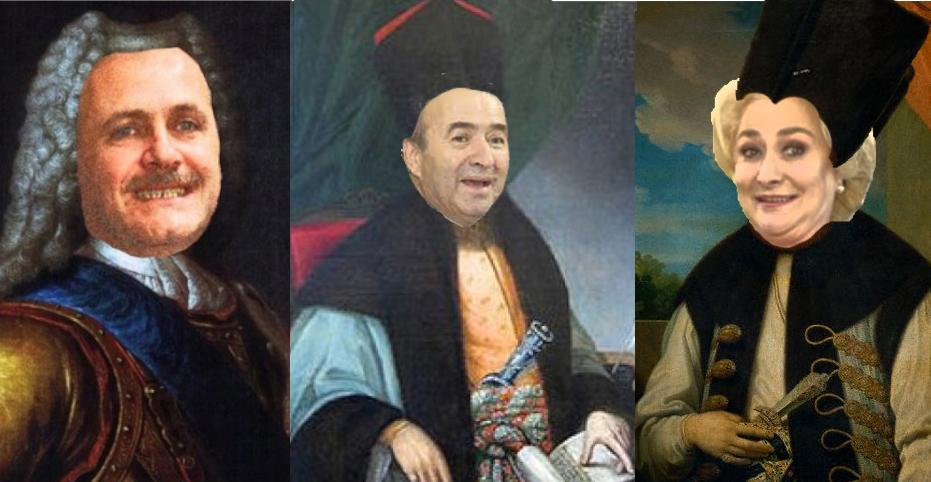 Noua casă regală a României: Dragnea rege, Tudorel logofăt și Veorica agrămatic!