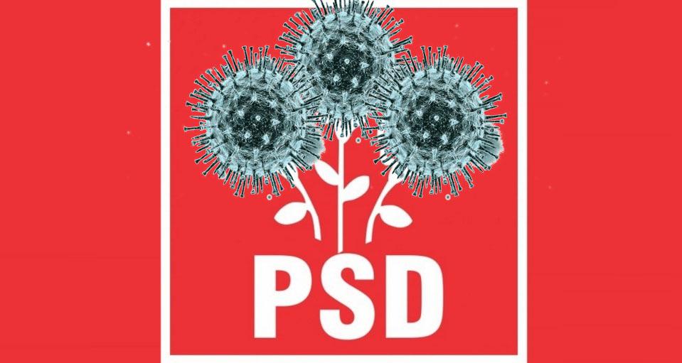 """Ca să nu i se mai spună """"ciuma roşie"""", PSD şi-a schimbat sigla: a înlocuit trandafirii cu 3 coronavirusuri!"""