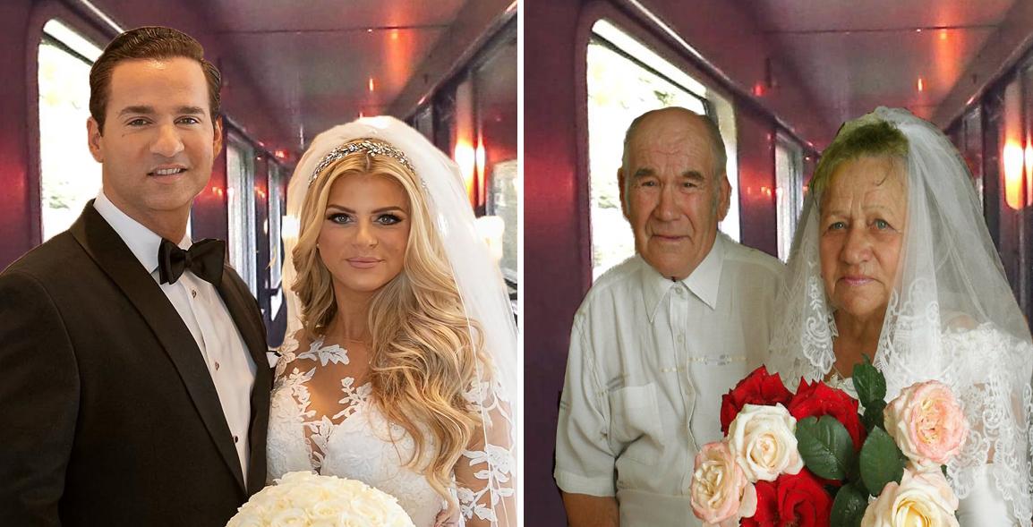CFR organizează nunți în tren: te însori la Tecuci şi când ajungi la Iaşi faci şi nunta de aur!