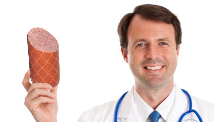 """Un nutriționist recomandă coaja de salam: """"Conține mai puțin plastic decât salamul!"""""""