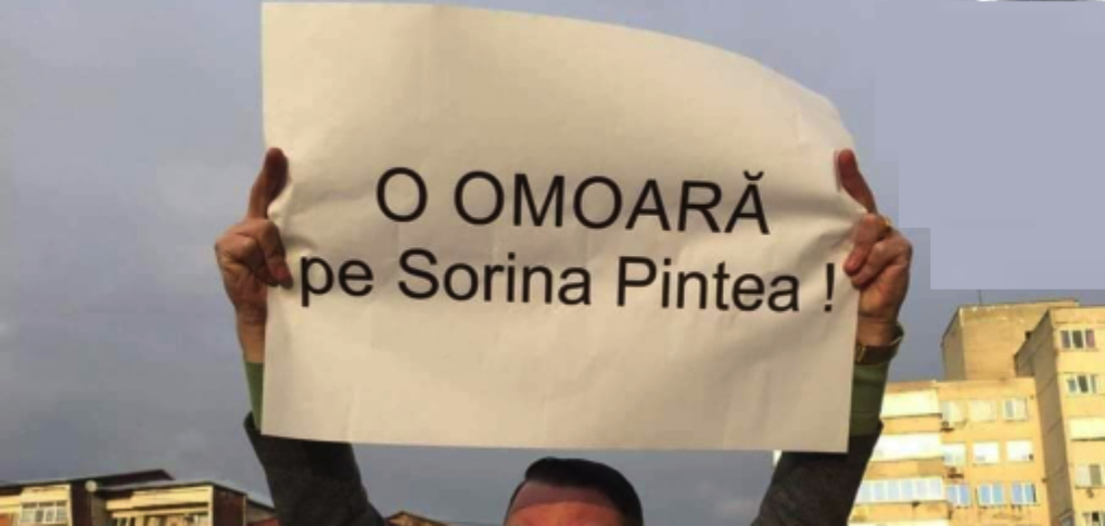 Sorina Pintea a fost demisă.Acum e clar: vor să o omoare deconectând-o de laşpagă!