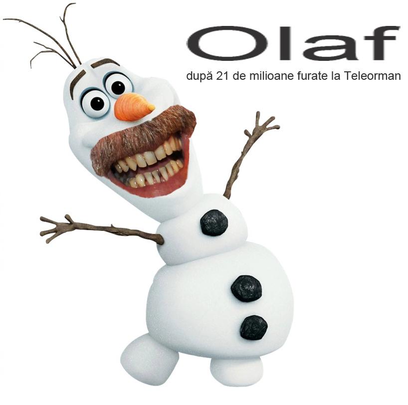 Olaf după 21 de milioane furate la Teleorman!