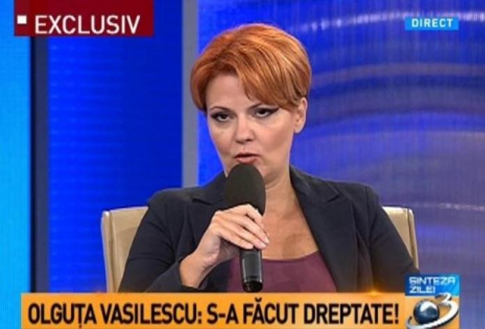 """Olguța: """"S-a înțeles greșit. Salariile se vor dubla, dar în următorii 30 de ani doar dacă rămâne PSD-ul la putere"""""""