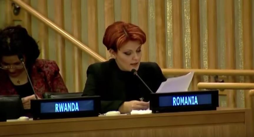 Şoc și groază! Olguța va încerca să rupă câteva cuvinte în română!