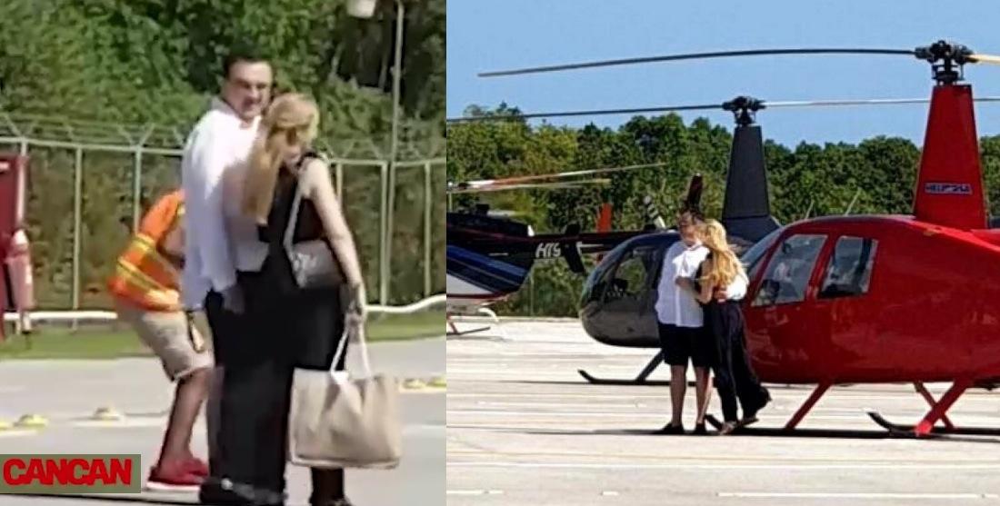 Marian Oprișan își duce gagica cu elicopterul în vacanțe delux. Puteai și tu, dar maică-taare pensia mică!