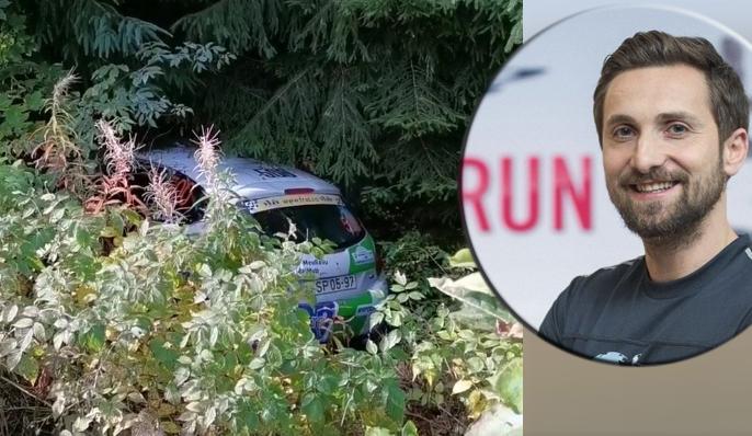 Accident la raliu: Dani Oțil a intrat cu maşina în boscheți. Dacă era Mihaela Rădulescu pe locul din dreapta, se explică!