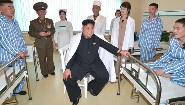 Tot mai mulți infectați din Coreea de Nord vor să fie mutați în spitalele din România, că se face tratament cuciorbă!