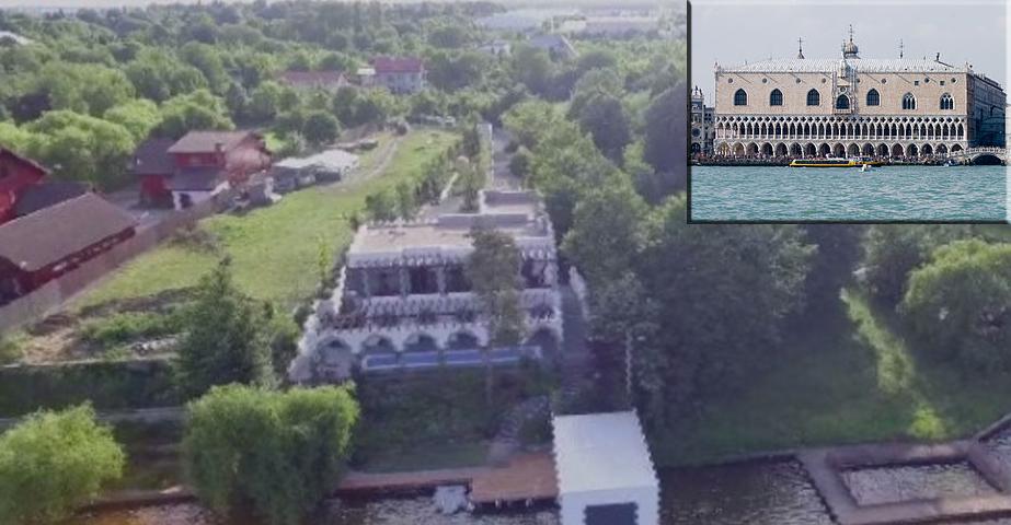 Palatul Dogilor din Veneția este plagiat dupăPalatul Ioanei Băsescu din Snagov!