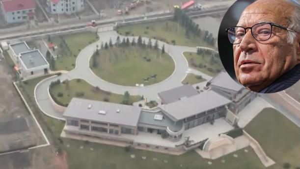Palatul lui Dan Voiculescu, construit dintr-o pensie de 1000 de lei. Iohannis la pușcărie!