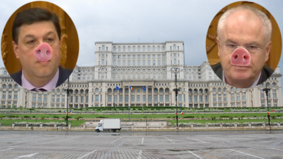 Parlamentul României, declarat oficial cea mai mare cocină din lume!