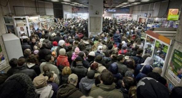Panică la metrou: mai mulți călători sunt suspectați că ar fi făcut duș!