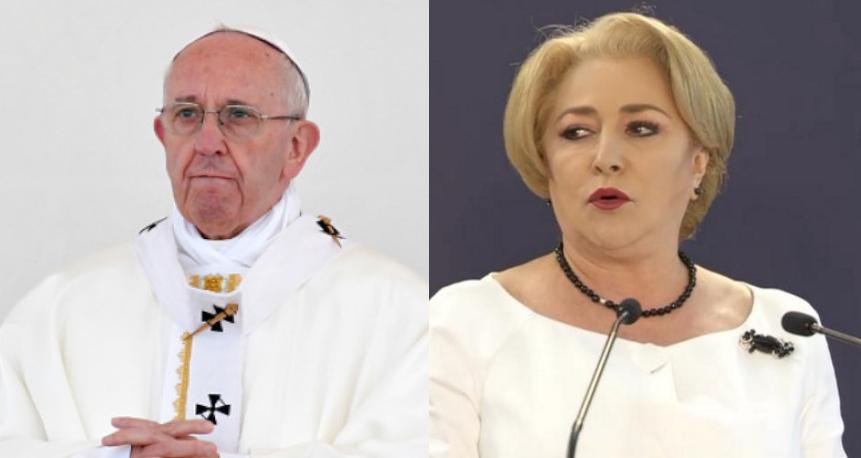 Alertă: Viorica se duce la Vatican să anunțe că următorul papă va fi o femeie din Videle!