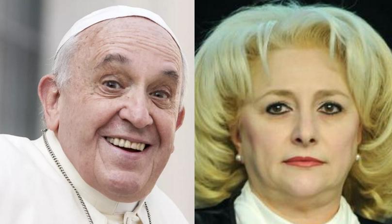 Șoc: Viorica l-a anunțat pe Papa că mută ambasada de la Ierusalim la Vatican!