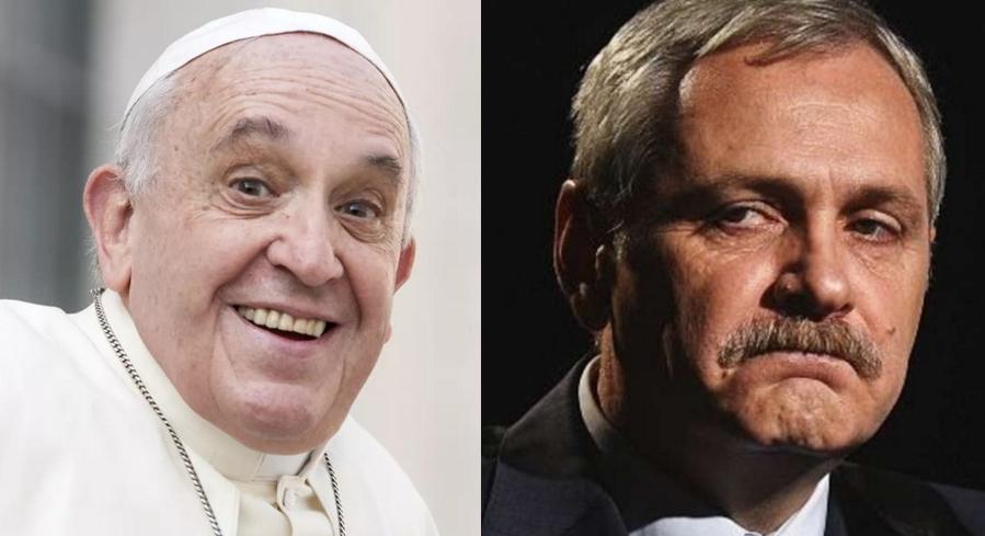 Papa a sunat la Jilava să întrebe când îi va putea spăla picioarele lui Dragnea!
