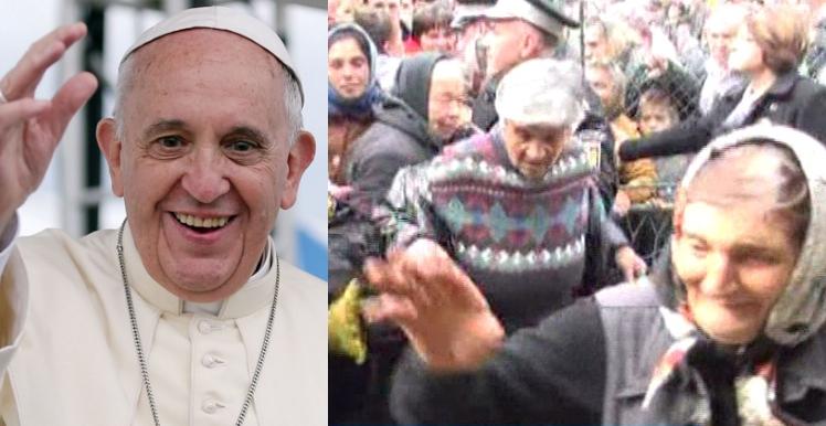 """Bucurie de nedescris în Teleorman: s-a auzit că """"vine papa""""!"""