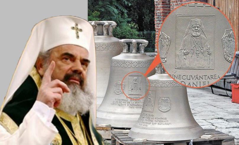 """La clopotul de 500.000 de euro al lui Daniel se vor putea da și dedicații: """"De la Găbiță Firea încă 100 de milioane!"""""""