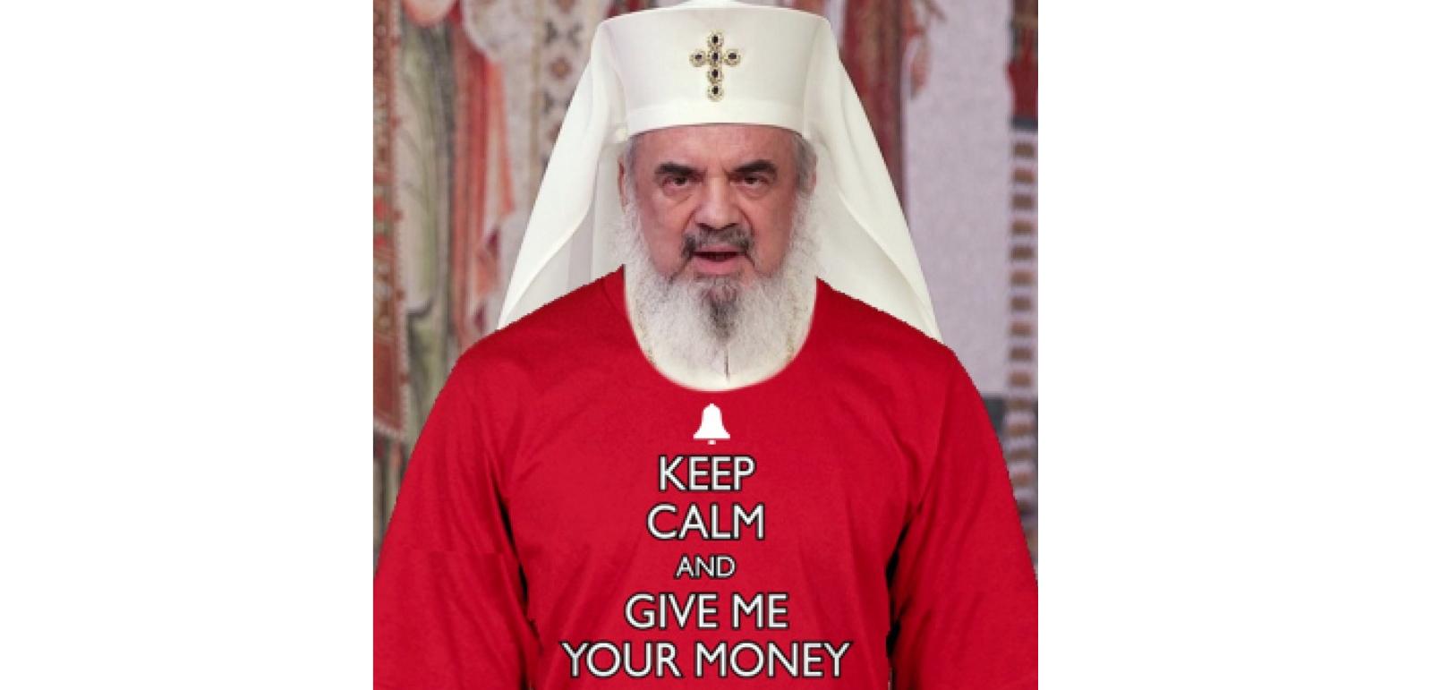 Patriarhul a trecut la sutana de Crăciun!