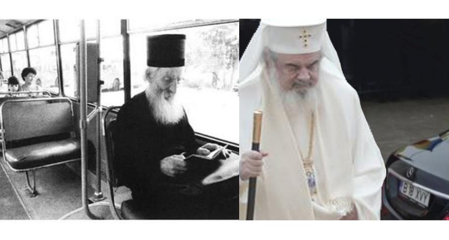 Patriarhul Pavle al Serbiei vs Patriarhul Daniel al Mercedes-Benz. Dăm clasă la săraci!