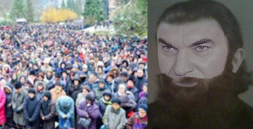 Mii de credincioase au plecat în pelerinaj spre penitenciarul Rahova, la părintele Arsenie Borcea!
