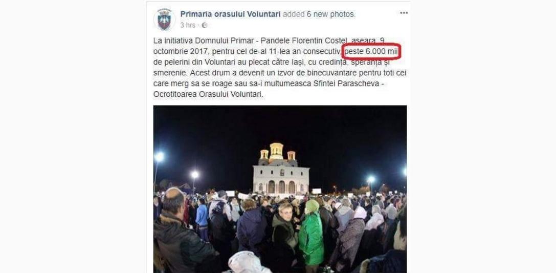 Doar 10 din cei 6000 de pelerini din Voluntari au ajuns la Iași. Ceilalți au cerut azil politic la Buzău!