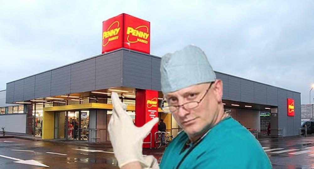 La Penny nu doar că îți iau temperatura, dar îți fac şi colonoscopie dacă piuie la ieşire!