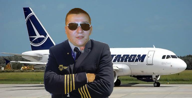 Un pilot Tarom, fost taximetrist, a refuzat o cursă până la Atena pentru că e prea scurtă!