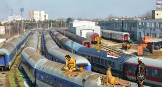 Nou de la CFR: călătorii din trenurile care fac mai mult de 2 zile până pe litoral pot sta la plajă pe vagoane!