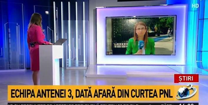 Dată afară din curtea PNL. Antena3 s-a refugiat în c_rul PSD!