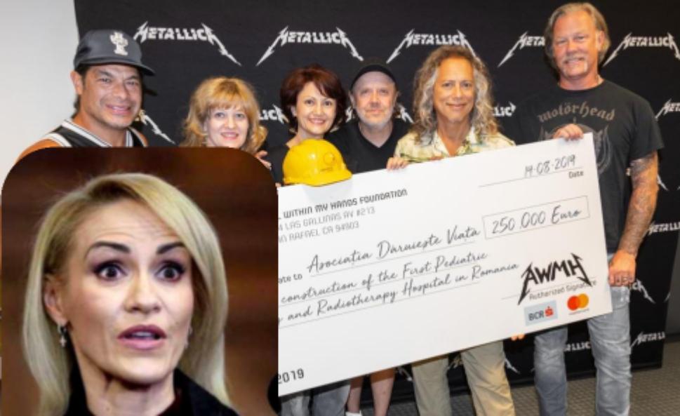 """Fierea îi atacă și  pe băieții de la Metallica: """"Dacă nu le dădeam eu stadionul, mai donau un căcat!"""""""