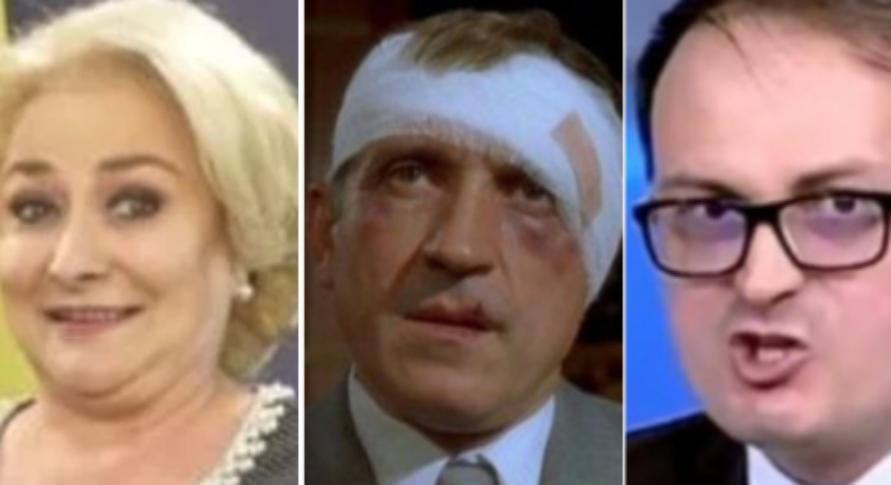 Dacă ăștia 3 iau mai mult de două voturi împreună, înseamnă că Veorica a învățat să-și citească numele și nu a pus ștampila pe Iohannis!