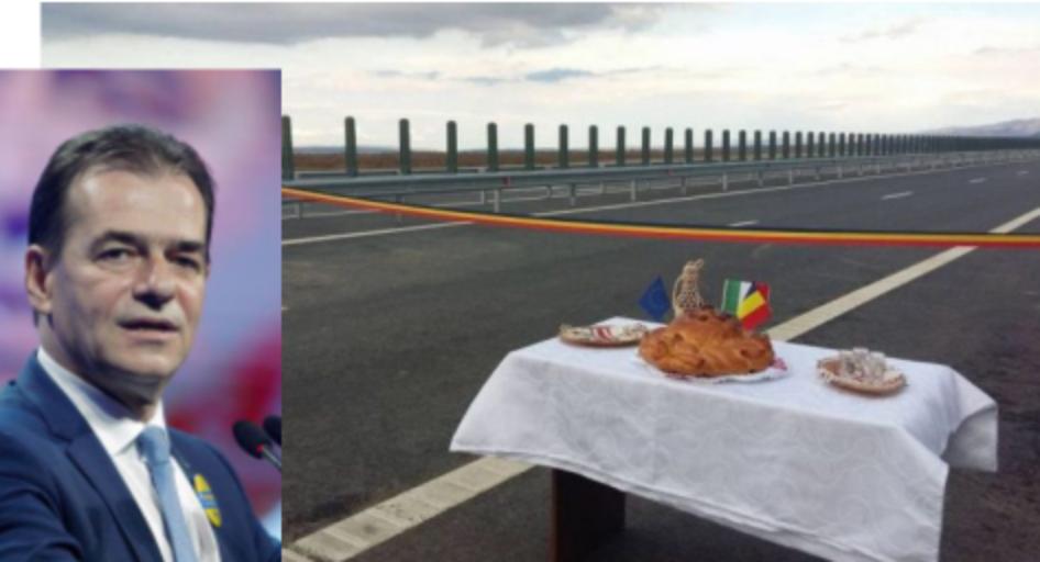 Orban va inaugura primii săi 10 metri de panglică de autostradă!