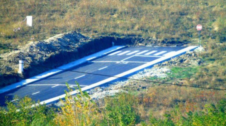 """""""Strada către nicăieri"""" din Piatra Neamț își schimbă numele în """"Autostrada jefuirii neamului""""!"""