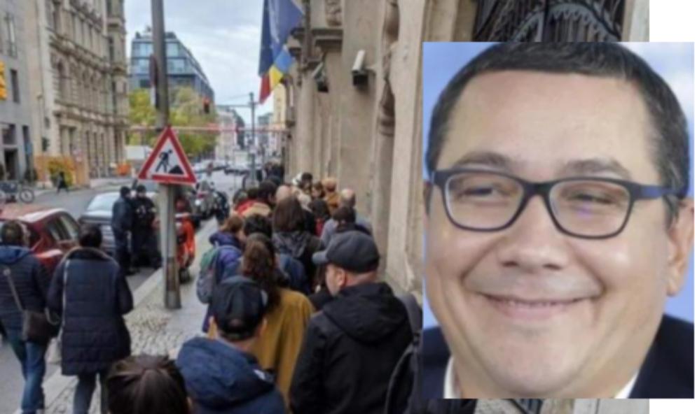 """Ponta: """"Oamenii se așează de 3-4 ori la coadă ca să voteze cu Mircea Diaconu!"""""""