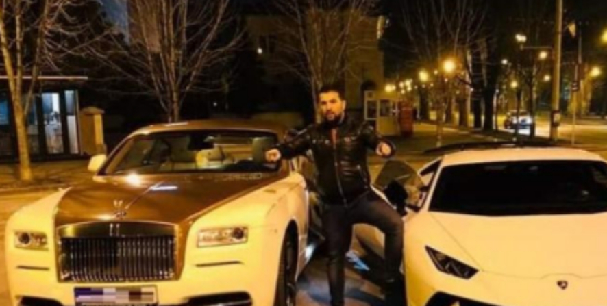 Manelistul Țancă Uraganul, prins circulând cu un Rolls Royce fără asigurare. Poliția l-a lăsat fără număr, fără număr, fără număr!
