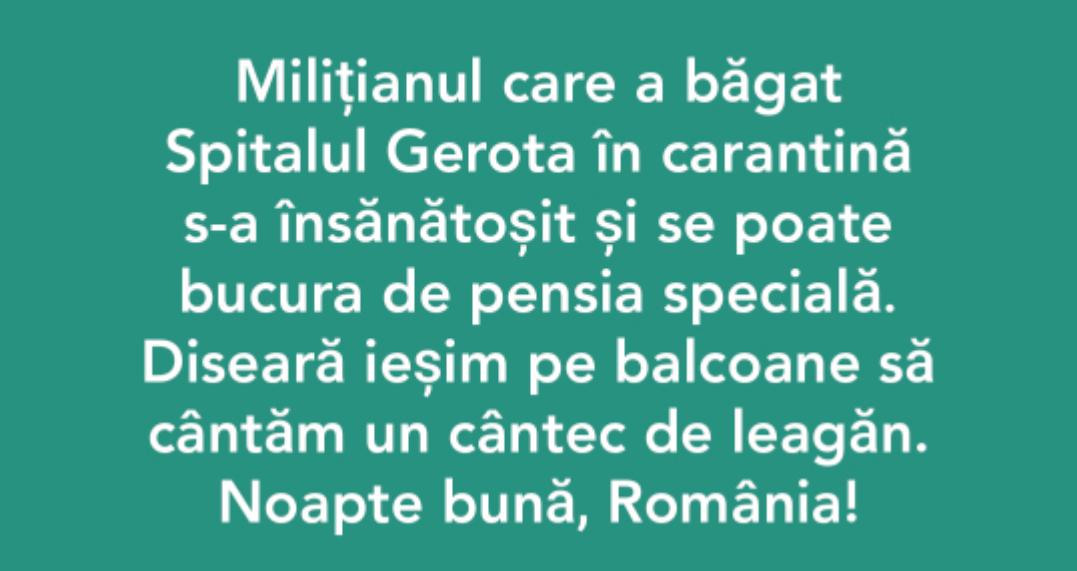 #noapte-buna-romania