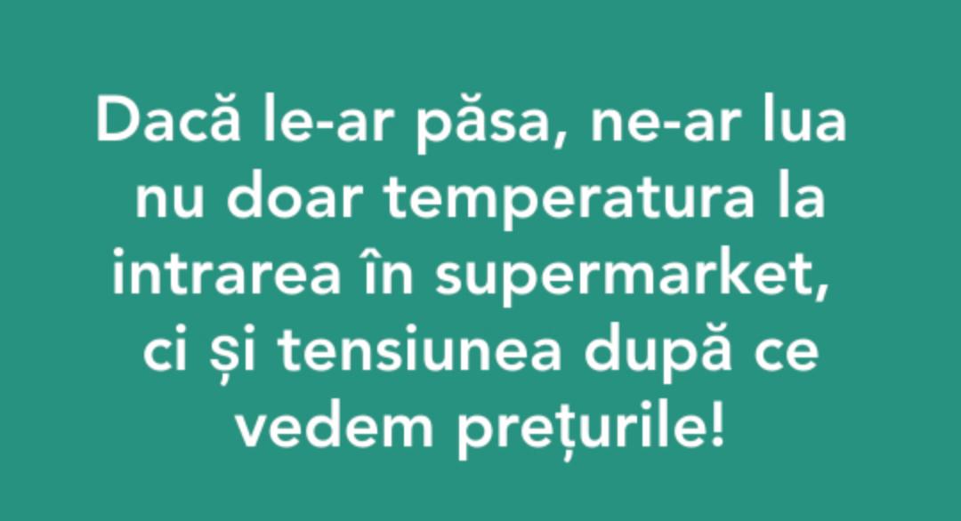 #jos temperatura și prețurile!