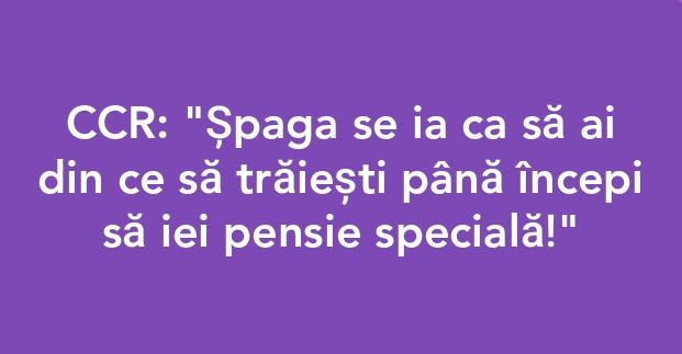 #spaga e un drept
