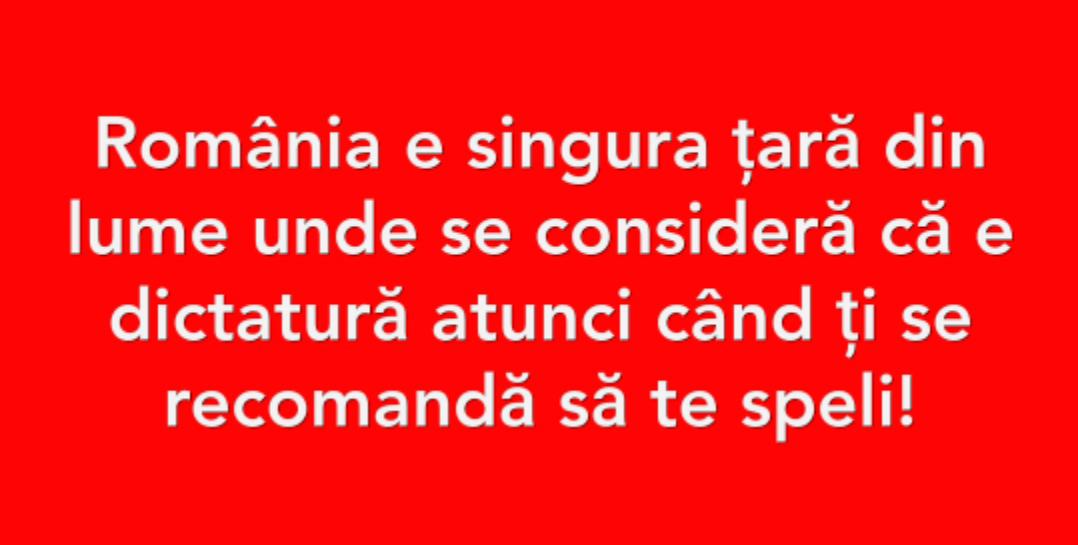 #dictatura săpunului