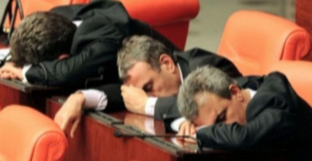 Parlamentul României este noua imagine a somniferelor Diazepam!