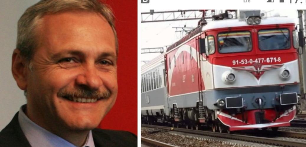 """Dragnea râde de călătorii trenului Mangalia - Timișoara: """"Au făcut mai mult ca mine!"""""""