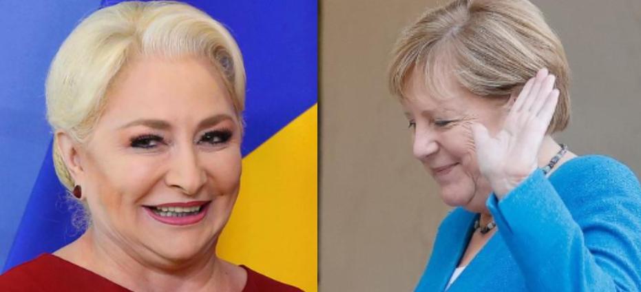 """Angela Merkel refuză oferta Veoricăi Dăncilă de a se alătura echipei BNR: """"Nu știu să fac zacusken la nivelul ăla!"""""""